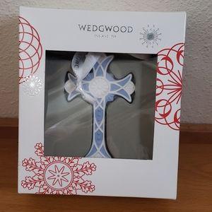 NIB Wedgewood Christmas Blue Cross